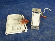 Lightolier CI600VAPLC Compose PLC Designer Incandescent Room Dimmer White