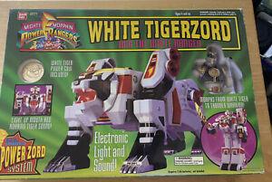 Bandai Power Rangers: White Tigerzord & White Ranger 2271 Complete