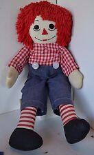 Vintage Raggedy Ann Andy Stuffed Doll Handmade