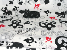 New Ikea Barnslig Fabric (Black/White)
