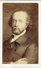 Photo cdv : Pierre Petit ; Portrait de Ary Scheffer , d'après peinture