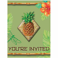 Tahiti Tropics Invitation Postcards 8 Per Pack