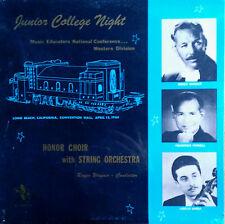 JUNIOR COLLEGE NIGHT - ROGER WAGNER, FREDERICK FENNELL, L. VARGA - SEALED LP