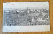 CARTOLINA CAPRIATA D ' ORBA PANORAMA RARA VIAGGIATA 1905 SUBALPINA ZZ