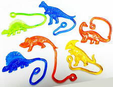 6 pcs Sticky dinosaur birthday party pinata prize Gift Vending toys Wholesales