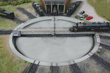Walthers Cornerstone HO Motorized 130' Assembled Turntable 933-2859