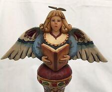 "Sweet Jim Shore ""Celebrate With Harmony"" Angel Figurine (2005). Tulip Base"