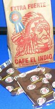 5 X CAFE EL INDIO 460 gr / 16 oz. Ground Coffee Imported f/ HONDURAS ! SPECIAL !