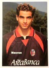 Cartolina Bologna Calcio 2001-02 Michael Fabre