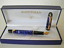 WATERMAN FOUNTAIN PEN *PHILEAS 11* in  MARBLED COBALT BLUE