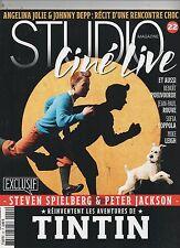 Studio Live n°22. Steven Spielberg les aventures de Tintin. 2011 - neuf