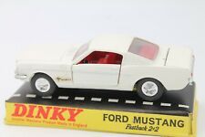 DINKY TOYS 161 * FORD MUSTANG FASTBACK 2+2  * OVP * 1:43 * MECCANO