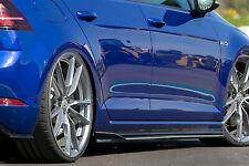 CUP 3 Seitenschweller Sideskirts Schwert ABS für VW Golf 7 R R-Line Facelift