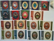 USA Craft Breweries Boston Colorado Chicago   Group of 100 beer labels