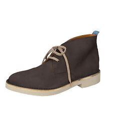 scarpe uomo MOMA 40 EU polacchini grigio camoscio AB329-C