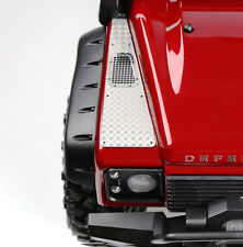 Front Hood Side Chequer / Diamond Plate (Stainless Steel) for Traxxas TRX-4
