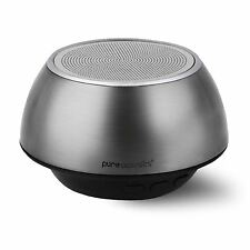 Pure Acoustic QBT220 Hipbox Wireless Portable Bluetooth Speaker w/ Mic - Silver