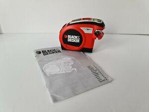 Black & Decker BDM200L Laser Line Auto Measuring Tape with Manual
