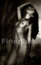1999 Original Signed ASIAN FEMALE NUDE Oriental Photo Large 13x19 ~ KELLY WRIGHT