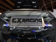 "31""x12""x3"" Intercooler + Piping Kit For Honda S2000 F22 Engine NA-T Black Hoses"