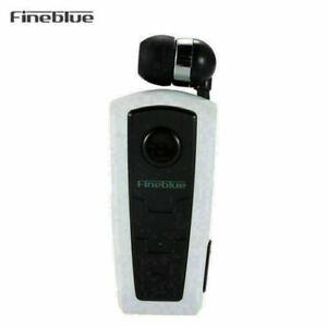 F910 FineBlue Bluetooth Earphone Wireless Headsets Business Vibrating Alert Clip