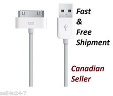 3Ft/1M USB Charger/Data Sync Cables for Apple iPhone 4, 4S, 3S, 3 and iPod