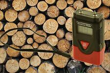 Holzfeuchtemessgerät Brennholz Laminat Holz Baufeuchte Temperatur Feuchtigkeit