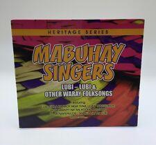Heritage Series: Mabuhay Singers Lubi-lubi & Other Waray Folksongs Filipino Cd