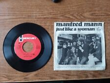 1966 VERY GOOD++Manfred Mann Just Like A Woman / I Wanna Be Rich  72607 45