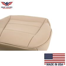 1999 2000 2001 02 03 2004 Ford Mustang V6 Driver Bottom Vinyl Seat Cover Tan