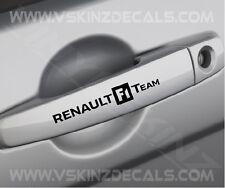 RENAULT F1 Team Door Handle Decals Stickers Superior Cast Vinyl Cup Sport Trophy