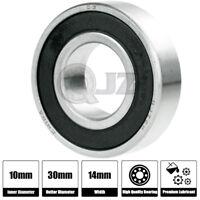 1x 2200-2RS 10x30x14mm Self Aligning Ball Bearing Double Row Bearing Steel