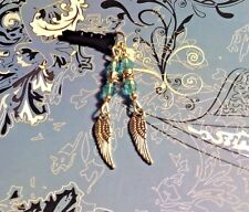Wings Western Crystal Cell Phone Charm~Dust Cover~All Phones~$1 SHIP