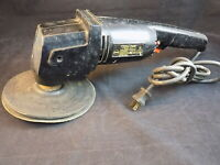 "Rare Vintage JC PENNY DOUBLE INSULATED 7"" POLISHER SANDER #2905 1600RPM WORKS!"
