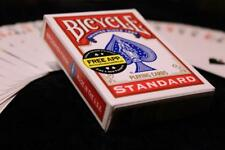Magic Cards famous Svengali Deck Bicycle Red Back Instant magic trick New-video