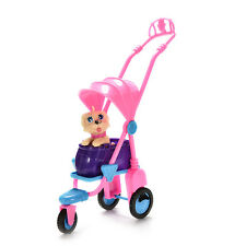 Pet Dog Strollers 3 Wheels Cute Tricycles Play House Toys for Baby Gifts