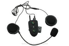 100m 2-way Intercom Bluetooth BT FM Motorcycle Helmet Headset HM-528