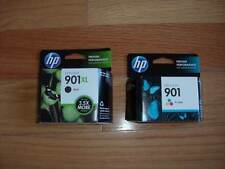 2017 GENUINE HP 901XL LARGE BLACK 901 COLOR CARTRIDGE J4540 J4680 4500 NEW SEALE