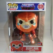 """Masters of the Universe - Beast Man 10"""" Nycc 2020 Exclusive #1039 Funko Pop! New"""