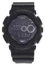 Casio GD-100-1BDR G-Shock Black Digital Dial Black Resin Strap Men's Watch 50mm