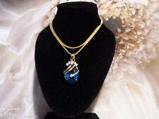 Markenlose Halsketten aus Echtschmuck mit Zirkon-Hauptstein