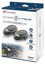Interphone Tour Bluetooth Motorcycle Intercom Kit - Twin Pack