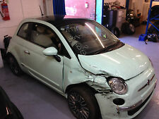 2015 Fiat 500 lounge pop breaking parts only 1x wheel bolt 5000 MILES