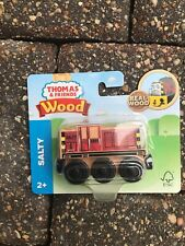 2017 Thomas & Friends Wood Wooden SALTY Train Engine Fisher Price FHM26
