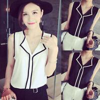 Summer Fashion Women V Neck Sling Tops Vest T-Shirt Casual S-2XL Cloth Gift Hot