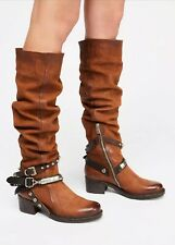 NEW $538 AS 98 Seeker Slouch Tall Boots Size 37 A.S. 98