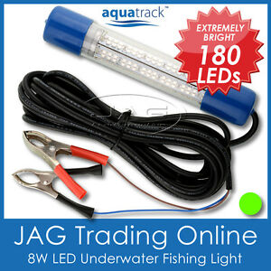 12V~24V GREEN LED UNDERWATER FISHING BOAT LIGHT WATERPROOF - Fish/Squid/Prawn