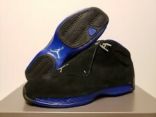 promo code 04d73 c2ffa DS Air Jordan 18 Retro SPORT ROYAL BLACK Size 14