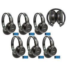 6 New Foldable DVD Headphones Headset For Grand Caravan Town Country Van IR-609B