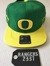 Nike Aerobill Oregon Ducks Pro Break Apple Green Hat Cap Unisex Snapback